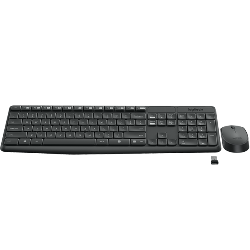 Logitech MK235 Wireless Keyboard And Mouse Price In