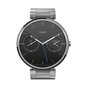 Motorola Moto 360 Androidwear Smartwatch 1st Generation - 46mm (Refurbished, Light Metal, Slim Fit) price in Pakistan