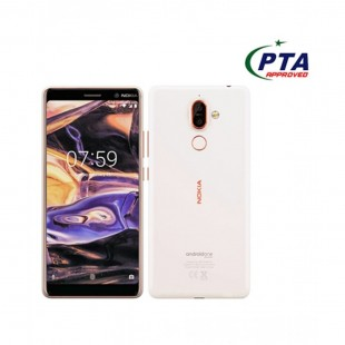 Nokia 7 Plus 64GB 4GB Dual Sim White Official Warranty PTA Approved price in Pakistan