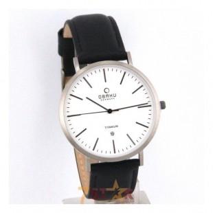 Obaku V215GDTIRB Mens Wrist Watch in White Dial With Titanium Case price in Pakistan
