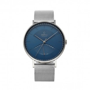 Obaku Elm Men's Watch Cyan (V213GUCLMC) price in Pakistan