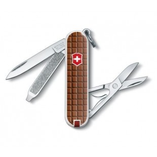 Victorinox SwissClassic 0.6223.842 Swiss army knife No. of functions 7 Chocolate brown 7611160043702 price in Pakistan
