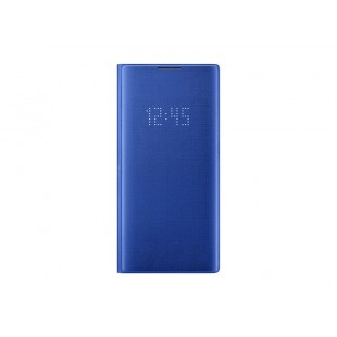 Samsung Galaxy Note10+ LED Wallet Cover, Blue price in Pakistan