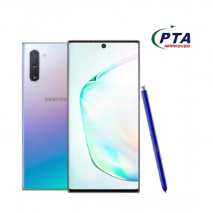 Samsung Galaxy Note 10 256GB 8GB Dual Sim Aura Glow with official warranty (PTA Approved) price in Pakistan