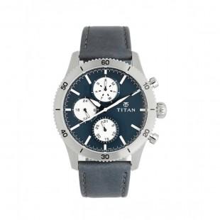 Titan Analog Men's Watch Blue 90105KL02 price in Pakistan
