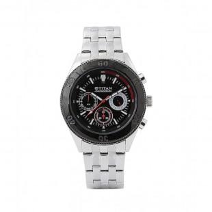 Titan Analogue Men's Watch Silver 9324KM01 price in Pakistan