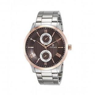 Titan Classique Men's Watch Silver 90100KM01 price in Pakistan