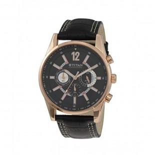 Titan Octane Men's Watch Black 9322WL02 price in Pakistan