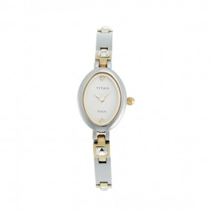 Titan Raga Analog Women's Watch Silver 9717BM01 price in Pakistan