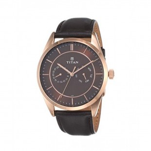Titan Slimline Men's Watch Black (90098WL01) price in Pakistan