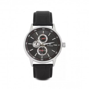 Titan Smart Steel Men's Watch Black 9441SL02 price in Pakistan