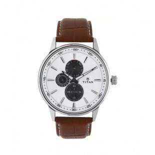 Titan Smart Steel Men's Watch Brown 9441SL01 price in Pakistan