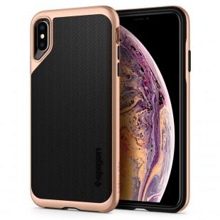 Spigen iPhone XS Max Case Neo Hybrid – Blush Gold 065CS25353 price in Pakistan