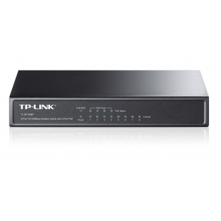 TP Link 8-Port 10/100Mbps Desktop Switch with 4-Port PoE TL-SF1008P price in Pakistan