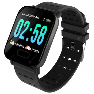 A6 Smart Watch Heart Rate Blood Pressure Monitor Sport Fitness Tracker price in Pakistan