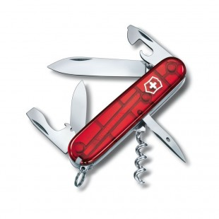 Victorinox Spartan Red Transparent 3 19/32in Swiss Army Knife 7611160105943 price in Pakistan