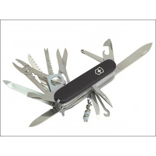 Victorinox VICSWISBL Swiss Champ Swiss Army Knife Black 7611160100641 price in Pakistan