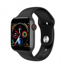 W34 Smart Watch Bluetooth Call Touch Screen, Intelligent Fitness Tracker Heart Rate Monitor for Android IOS