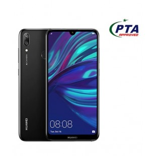 Huawei Y7 Prime 2019 64GB 3GB Dual Sim Midnight official warranty (PTA Approved)