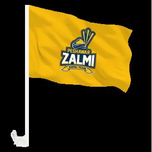 Peshawar Zalmi Flag - Pakistan Super League with Holder Clip  price in Pakistan