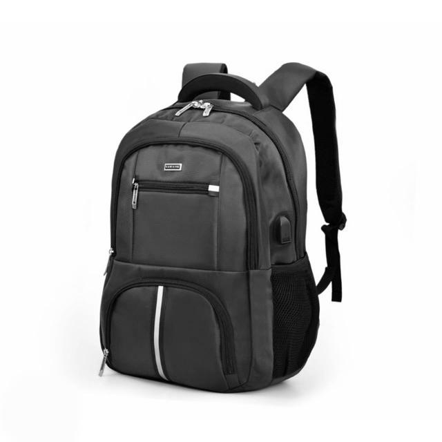 TAWANG 15.6 T8803-Black USB Design Casual Style Travel Backpack