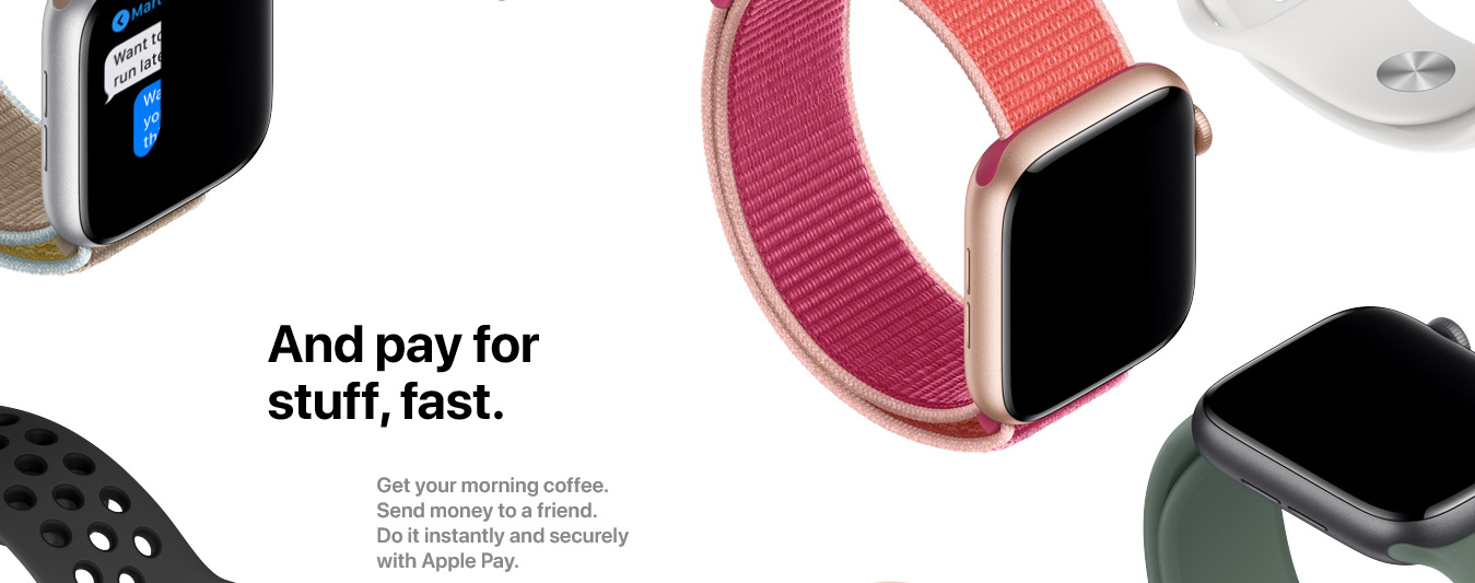 Apple iWatch Series 5 44mm - Titanium Case with Sports Loop GPS